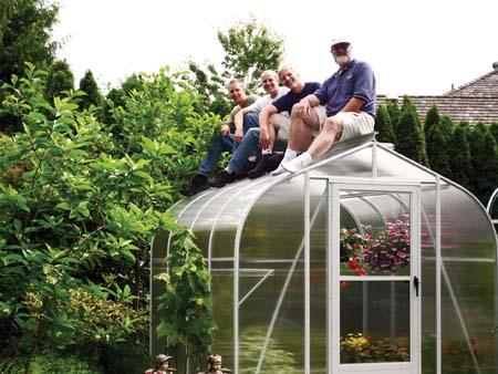 Beau Polycarbonate Greenhouse Kit | Small Greenhouse Kits | Backyard Greenhouse