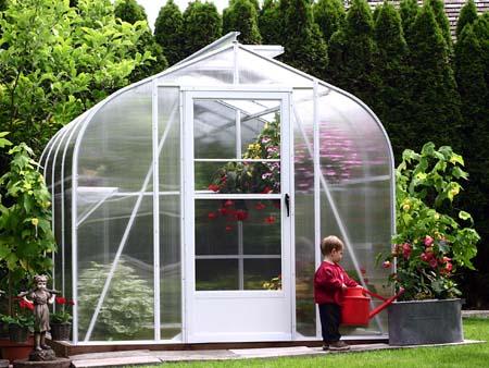Polycarbonate greenhouse kit small greenhouse kits for Tiny greenhouse kits